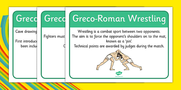 Rio 2016 Olympics Greco-Roman Wrestling Display Facts - rio 2016, riol olympics, 2016 olympics, greco-roman wrestling, display facts
