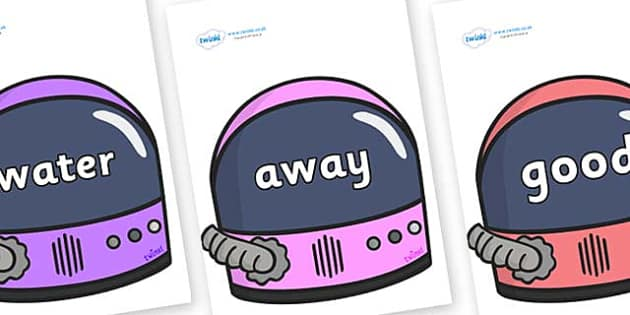 Next 200 Common Words on Astronaut Helmet - Next 200 Common Words on  - DfES Letters and Sounds, Letters and Sounds, Letters and sounds words, Common words, 200 common words