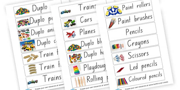 room equiptment lables - display lettering - Resource Labels Primary Resources, resource, label, drawer labels
