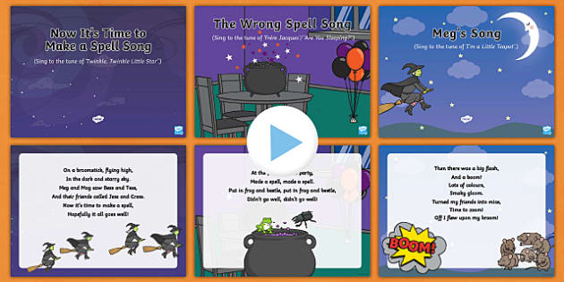Songs and Rhymes PowerPoints Pack