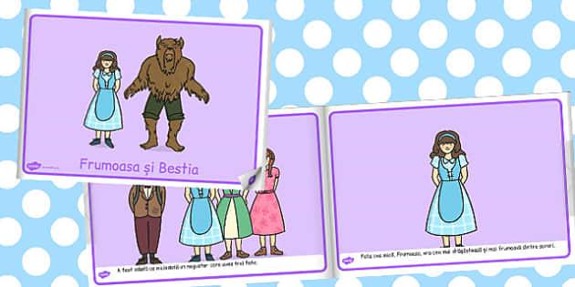 Frumoasa și Bestia - Poveste ilustrată