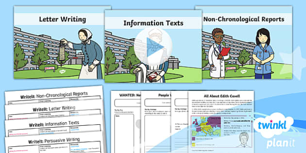 PlanIt Y2 Significant Individuals: Florence Nightingale WriteIt Pack