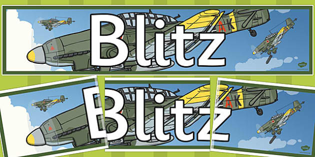 Blitz Themed Banner - themed, display, banner