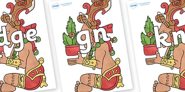 Silent Letters on Huun Ixim - Silent Letters, silent letter, letter blend, consonant, consonants, digraph, trigraph, A-Z letters, literacy, alphabet, letters, alternative sounds