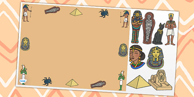Ancient Egypt Editable PowerPoint Background Template - ancient egypt, editable powerpoint, ancient egypt powerpoint, background template, egypt powerpoint