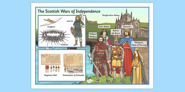 The Scottish Wars of Independence Large Display Poster - scottish