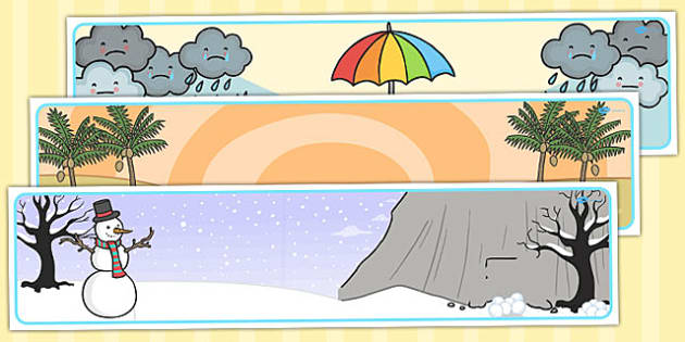 Winter Editable Banner For Publisher - seasons, weather, header