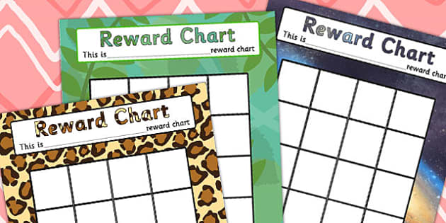 Reward Chart - rewards, award, praise chart, behaviour management