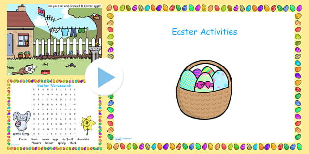 Easter Activity Pack Flipchart - easter, activities, games, IWB