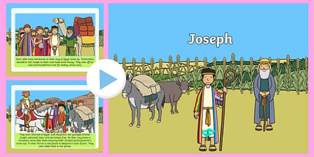 Joseph Story PowerPoint - jospeh, the story of joseph, joseph powerpoint, story of jopseph powerpoint, bible stories, bible story powerpoints, christianity