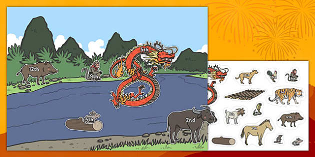 Chinese New Year Ordinal Numbers Activity - chinese new year, ordinal numbers, ordinal, numbers, activity