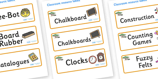 Safari Themed Editable Additional Classroom Resource Labels - Themed Label template, Resource Label, Name Labels, Editable Labels, Drawer Labels, KS1 Labels, Foundation Labels, Foundation Stage Labels, Teaching Labels, Resource Labels, Tray Labels, P