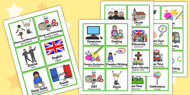 KS2 Visual Timetable Romanian Translation - romanian, timetable