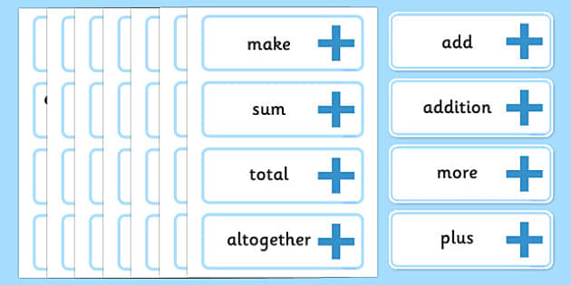Maths Area Calculation Word Cards - Maths Signs, math, display, poster, Maths Symbols, Foundation Maths, KS1 Maths, Large Maths Signs, Foundation numeracy, Counting