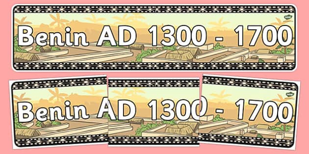 AD 1300-1700 Display Banner - ad 1300, ad 1700, display banner, display, banner, history