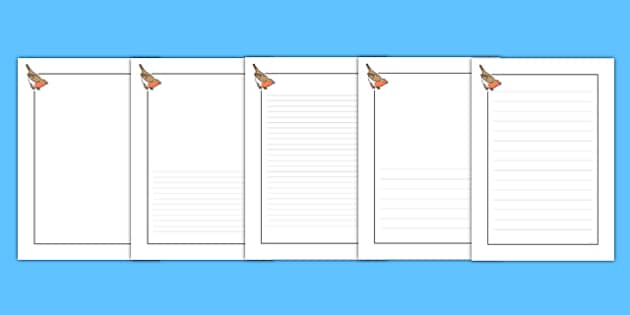 Robin Themed Writing Frames - robin, themed, writing frame, writing, frame