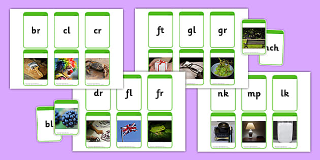 Phase 4 Photo Matching Cards Image to Sound - phase 4, photo, matching, cards