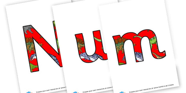 Numbers Banner - Maths Area Primary Resources, maths is fun, signs, labels, areas