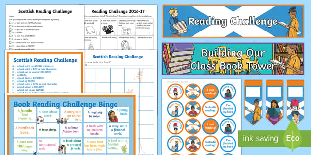 Scottish Reading Challenge Resource Pack - Scottish Reading Challenge, First Minister's Reading Challenge, book, reading, stories,Australia
