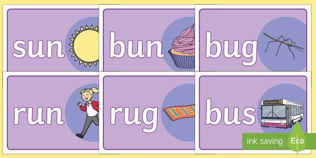 CVC Basic Playdough Mats U - australia, cvc word playdough mats, cvc u words, cvc u word playdough mats, basic literacy playdough mats, sen playdough mats, u words