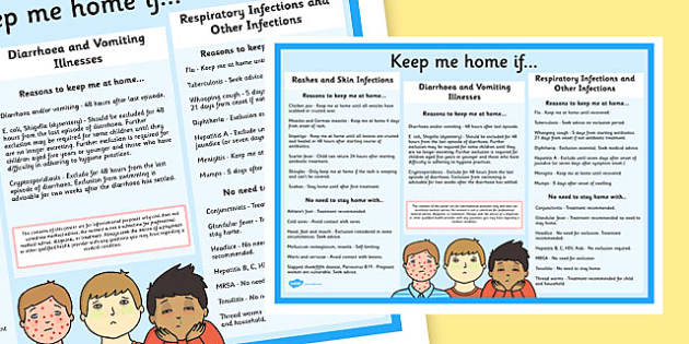 Keep Me At Home If Poster - keep me, at home, illness, sickness, parents, poster, display