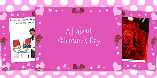 Early Years All About Valentine's Day PowerPoint - australia