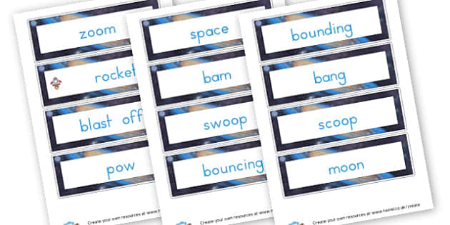 Zoom Rocket zoom display cards - Space Literacy Primary Resources, Space, planets, Sun, moon, star