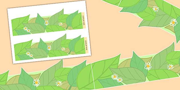 Leaf Display Borders - Leaf, Tree, Plant, Borders, Display