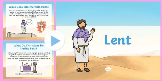 Lent Assembly Presentation - Lent, Ash Wednesday, Assembly, presentation