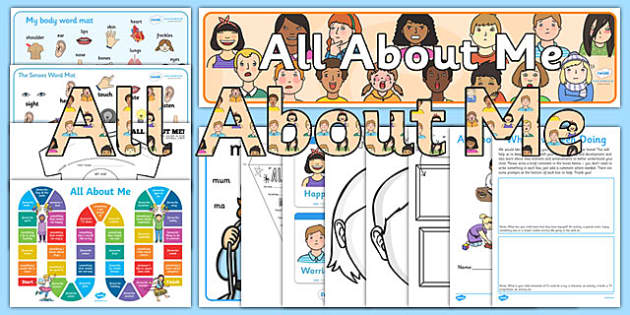 EYFS All About Me Resource Pack - eyfs, all about me, resource, pack