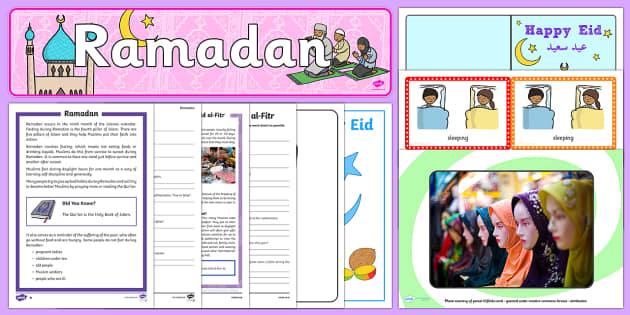 Ramadan Resource Pack - Ramadan, Muslim, Eid al Fitr, Eid Mubarak, Ramadan, festivals, celebrations, Islam,
