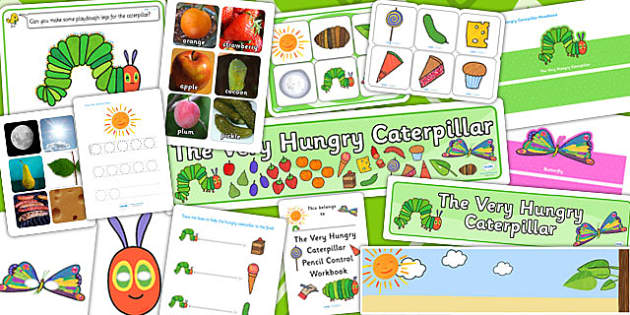 Childminders Pack to Support Teaching on The Very Hungry Caterpillar - stories, story books