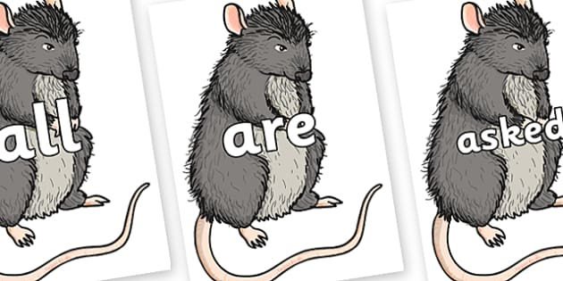 Tricky Words on Templeton - Tricky words, DfES Letters and Sounds, Letters and sounds, display, words