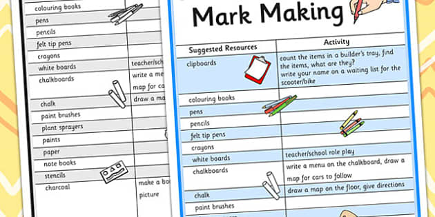 Mark Making Play Ideas - mark making,  play, play ideas, ideas for play, games, activities, game ideas, activity ideas, ideas for games, playtime, wet play