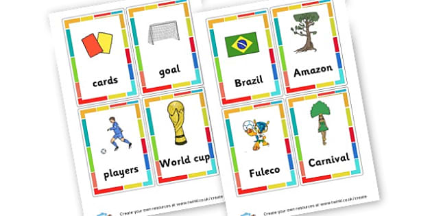 World Cup 2014 Cards - Football, Soccer & 2014 FIFA World Cup Brazil & Football Resources