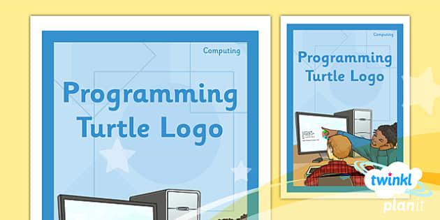PlanIt - Computing Year 4 - Programming Turtle Logo Unit Book Cover - planit, book cover, computing, year 4, programming turtle logo