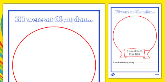 If I Were an Olympian Template - usa, america, if I were an olympian, olympics, 2016 rio olympics, olympian, template