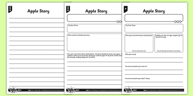 Apple Story Differentiated Activity Sheet Pack - traditional stories, traditional tales, storytelling, Pie Corbett, worksheet