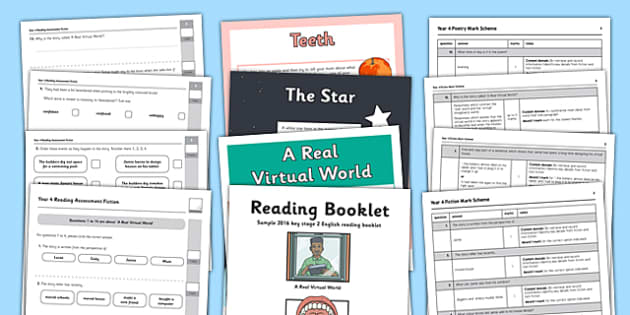 Year 4 Reading Assessment Term 1 - year 4, reading, assessment, read
