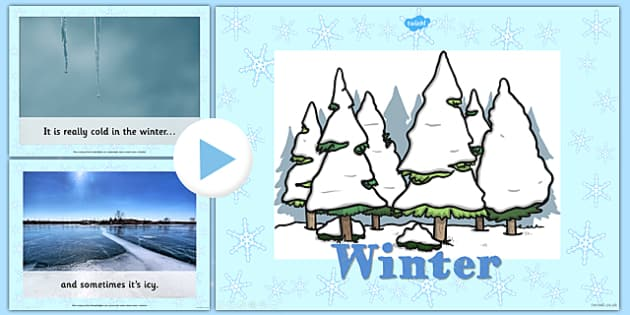 All About Winter PowerPoint - winter, powerpoint, information