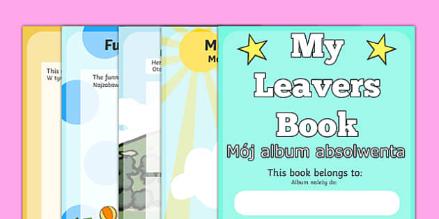 School Leavers Scrapbook Polish Translation - polish, school leavers, leavers, school, scrapbook, scrapbooking, photo, photos, memories, year, final, creative, creativity, scrap book, leaving, school