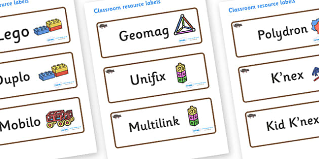 Mole Themed Editable Construction Area Resource Labels - Themed Construction resource labels, Label template, Resource Label, Name Labels, Editable Labels, Drawer Labels, KS1 Labels, Foundation Labels, Foundation Stage Labels