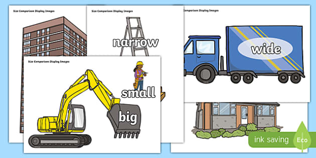 Building Site Size Comparison Display Images - cfe, curriculum for excellence, building site, size, comparison, display, image