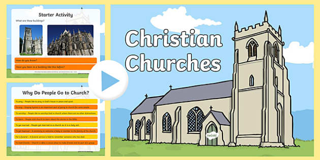 KS1 Christian Churches PowerPoint