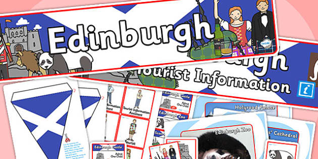 Edinburgh Tourist Information Office Role Play Pack-edinburgh, tourist information, tourist, role play, role play pack, edinburgh pack, tourist