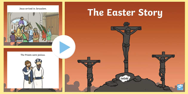 The Easter Story SEN PowerPoint - easter, SEN, sensory, PMLD, P Scales