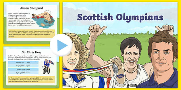 Scottish Olympians PowerPoint-Scottish