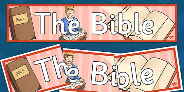 The Bible Display Banner - bible, display, banner, display banner
