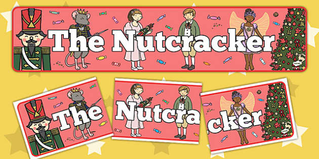 The Nutcracker Display Banner - nutcracker, display, banner