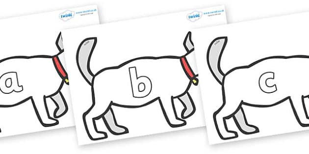 Phase 2 Phonemes on White Dog to Support Teaching on Brown Bear, Brown Bear - Phonemes, phoneme, Phase 2, Phase two, Foundation, Literacy, Letters and Sounds, DfES, display